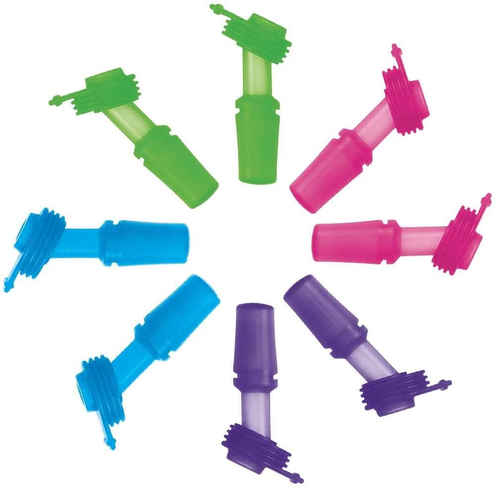 SINONIA Kids Bite Valves Fit All CamelBak Eddy Kids Water Bottle (8Pack - Mixed Color)