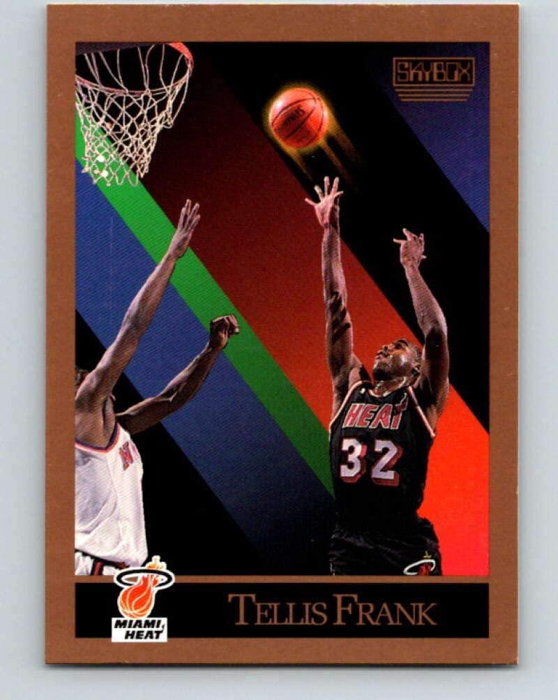 1990-91 SkyBox #147 Tellis Frank Mint Basketball NBA SP Heat