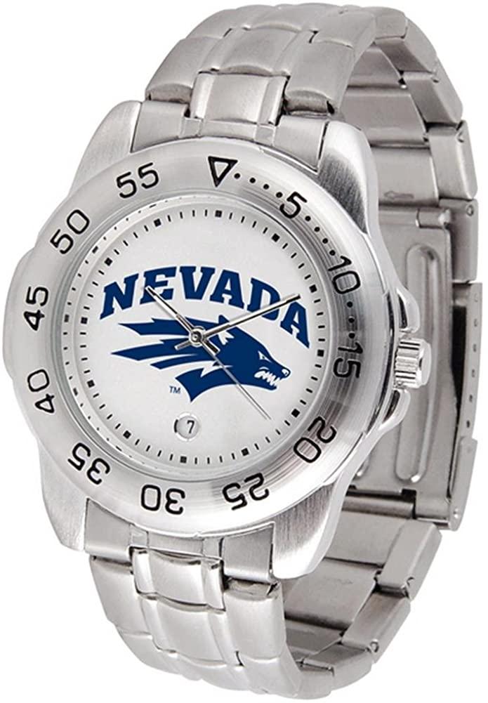 Nevada Wolf Pack Sport Steel Men's Watch