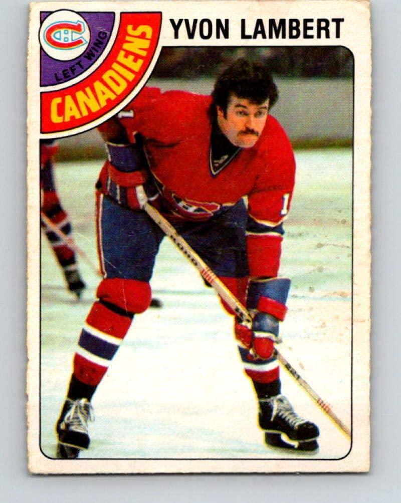1978-79 O-Pee-Chee #147 Yvon Lambert Hockey NHL Canadiens