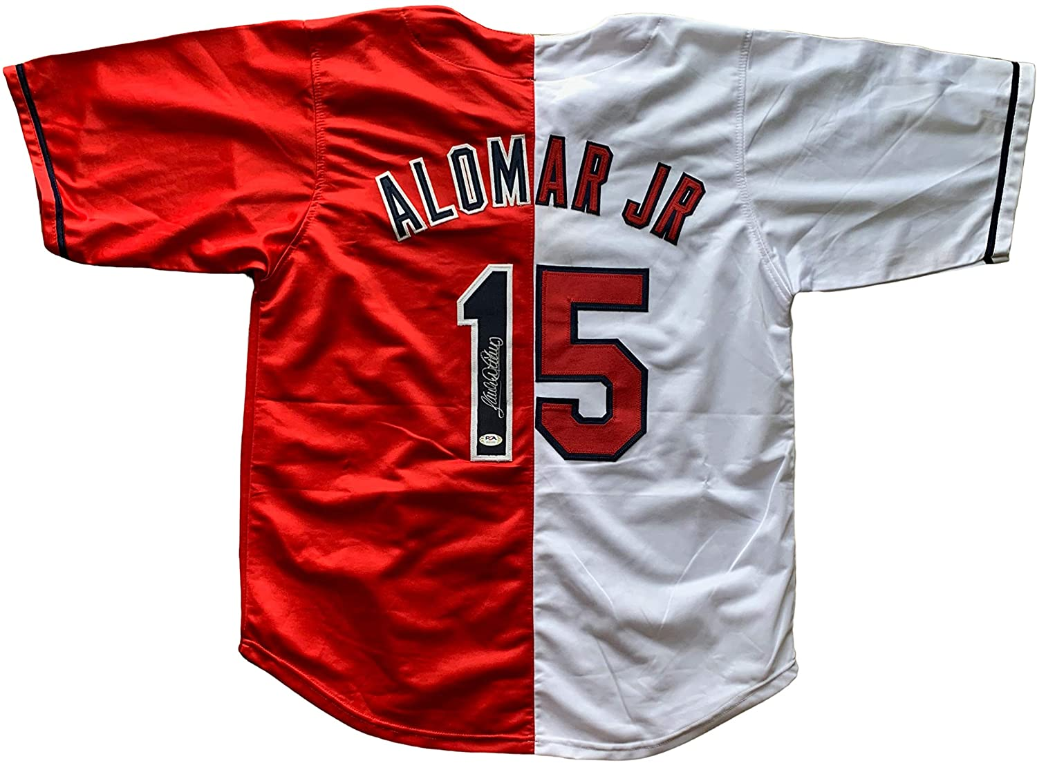 Sandy Alomar Jr. autographed signed jersey MLB Cleveland Indians PSA All Star