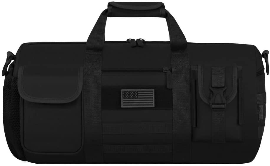 East West U.S.A RTD704L Tactical Digital Camo Heavy Duty Round Duffel Bag