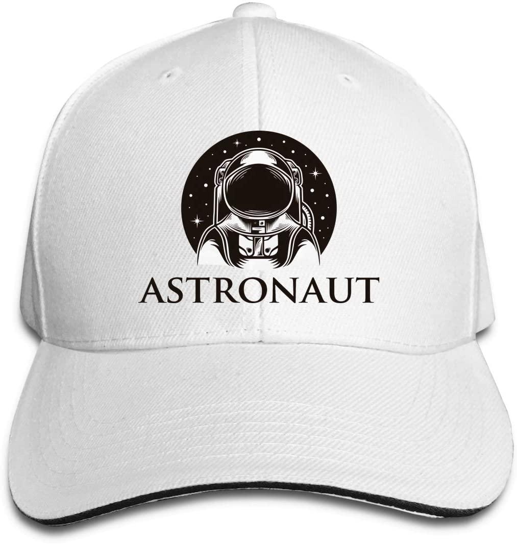 IASIFD Outer Space Unisex Flex-fit Hat Hip Hop Baseball Cap Sun Hat Outdoor Cap White