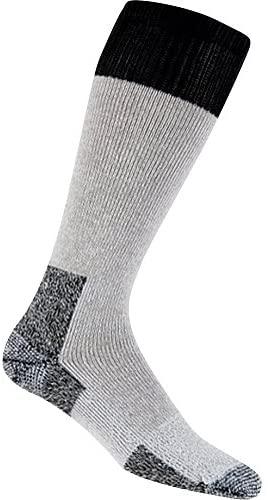 Thorlo Moderate Cushion Hunting Cold Weather Over-Calf Sock - Grey/Black Medium