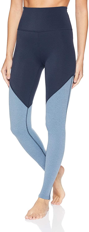 Beyond Yoga Womens Plush High Waist Angled Midi Legging