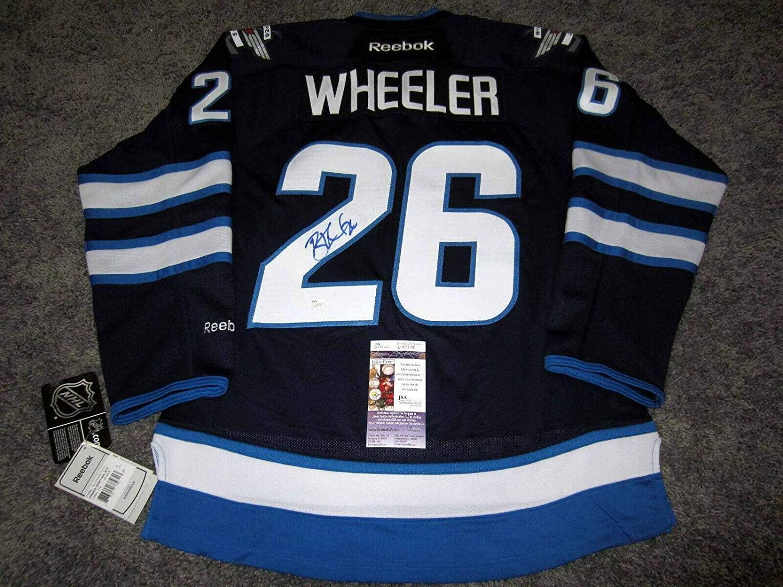 Autographed Blake Wheeler Jersey - w COA Small NEW - JSA Certified - Autographed NHL Jerseys