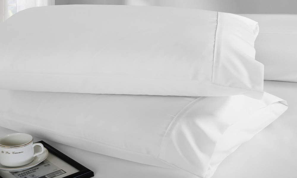 Standard Pillowcases Set of 2 Standard Pillowcases White Standard Pillowcases Cotton Standard Pillow Cases Organic Pillowcases Queen Pillowcases Cotton Pillowcases Queen Size 20x30