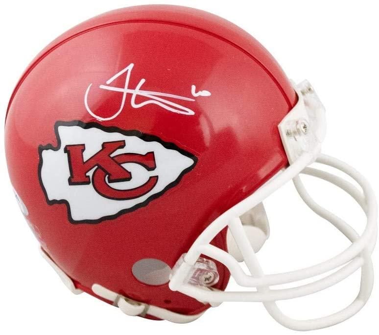 Tyreek Hill Autographed Kansas City Chiefs Mini Football Helmet - PSA/DNA COA