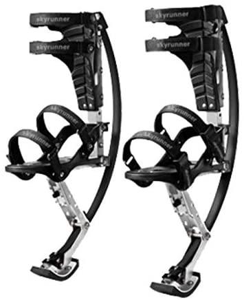 Jump-bird Jumping Stilts Pogo Stilts 66-110lbs/30-50kg Black