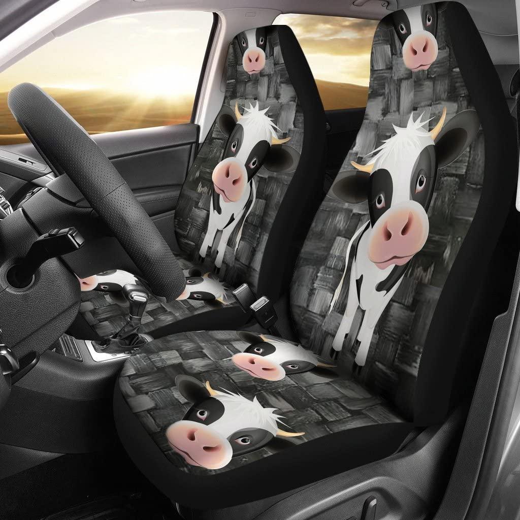 Deruj Cute Cow Print Car Seat Covers