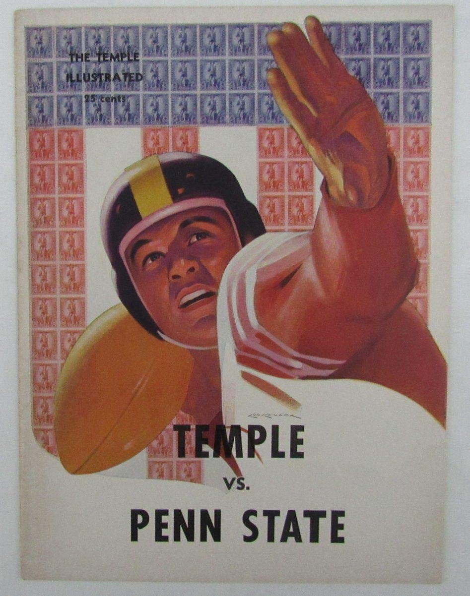 1944 Penn State Nittany Lions vs. Temple Owls College Football Program 137562 - College Programs