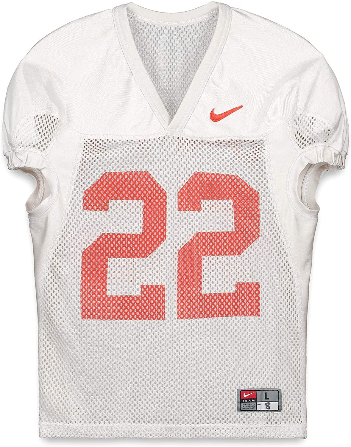 Clemson Tigers Practice-Used #22 White Jersey from the 2015-17 Football Seasons - Fanatics Authentic Certified