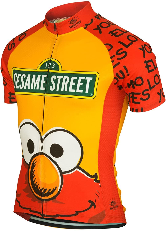 Brainstorm Gear Men's Elmo Cycling Jersey - SSEL-M