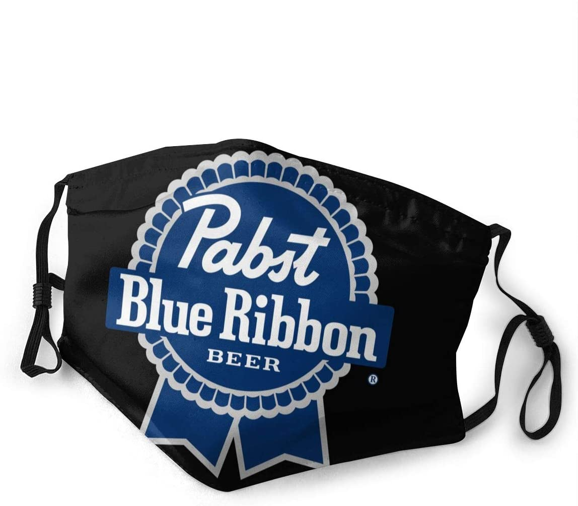 Pabst Blue Ribbon Dust with Filter is Soft and Breathable You Can Change Its Length According to Your Facial Contour