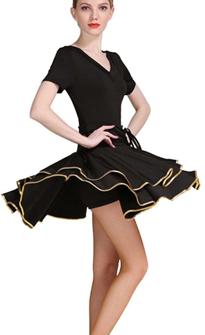 College Latin dress Latin dance practice clothes Cha Cha skirts Ballroom skirt Waltz skirt