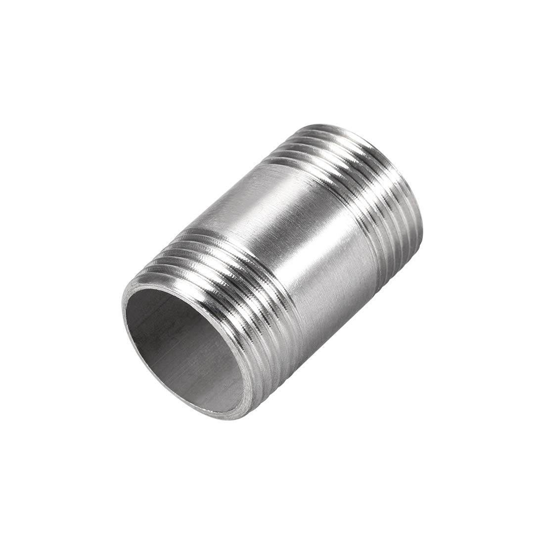 uxcell Stainless Steel 304 Cast Pipe Fittings Coupling Fitting 3/4 x 3/4 G Male