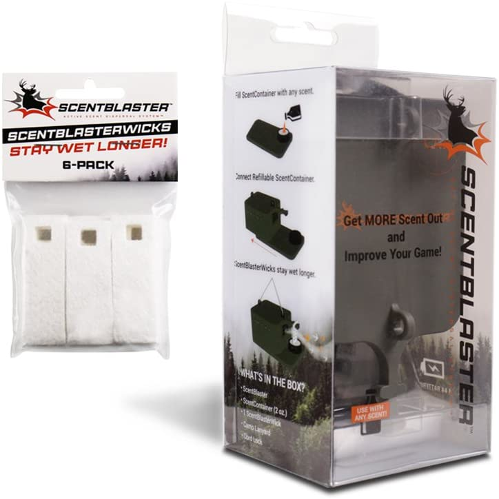 ScentBlaster Starter Kit - Wicking System and Scent Wick 6-Pack