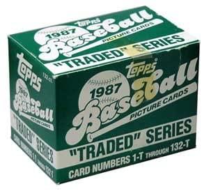 1987 Topps Traded Baseball Factory Set