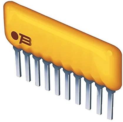 Resistor Networks Arrays 9pins 27Kohms Bussed - Pack of 100 (4609X-101-273LF)