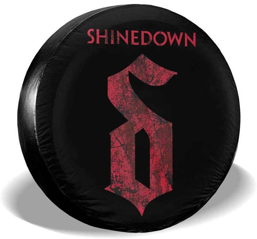 Hhill Swater Shinedown Car Travel Accessories Tire Cover Waterproof and Dustproof Tire Cover Wheel Cover (14-17 Inches)