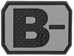 Maxpedition Gear B Negative Blood Type Patch