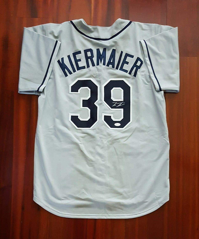 Signed Kevin Kiermaier Jersey - JSA Certified - Autographed MLB Jerseys