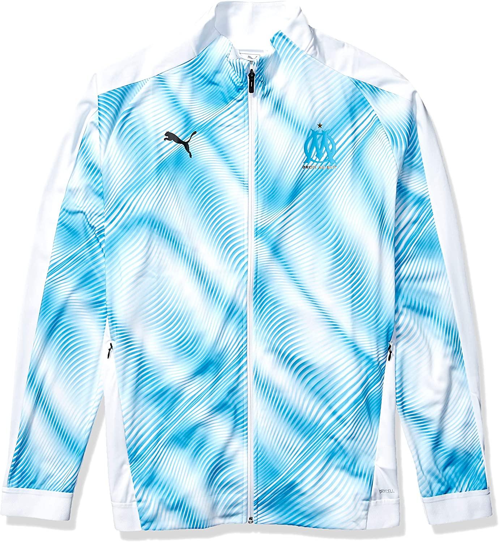 PUMA International Soccer mens Olympique De Marseille Licensed Stadium Jacket