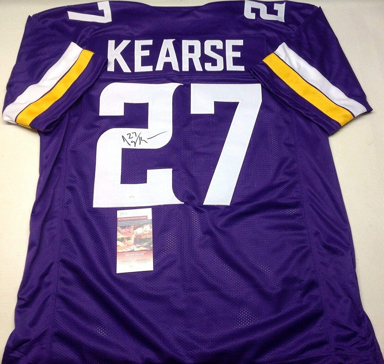 Autographed Jayron Kearse Jersey - Custom Purple Coa!!!! - JSA Certified - Autographed NFL Jerseys