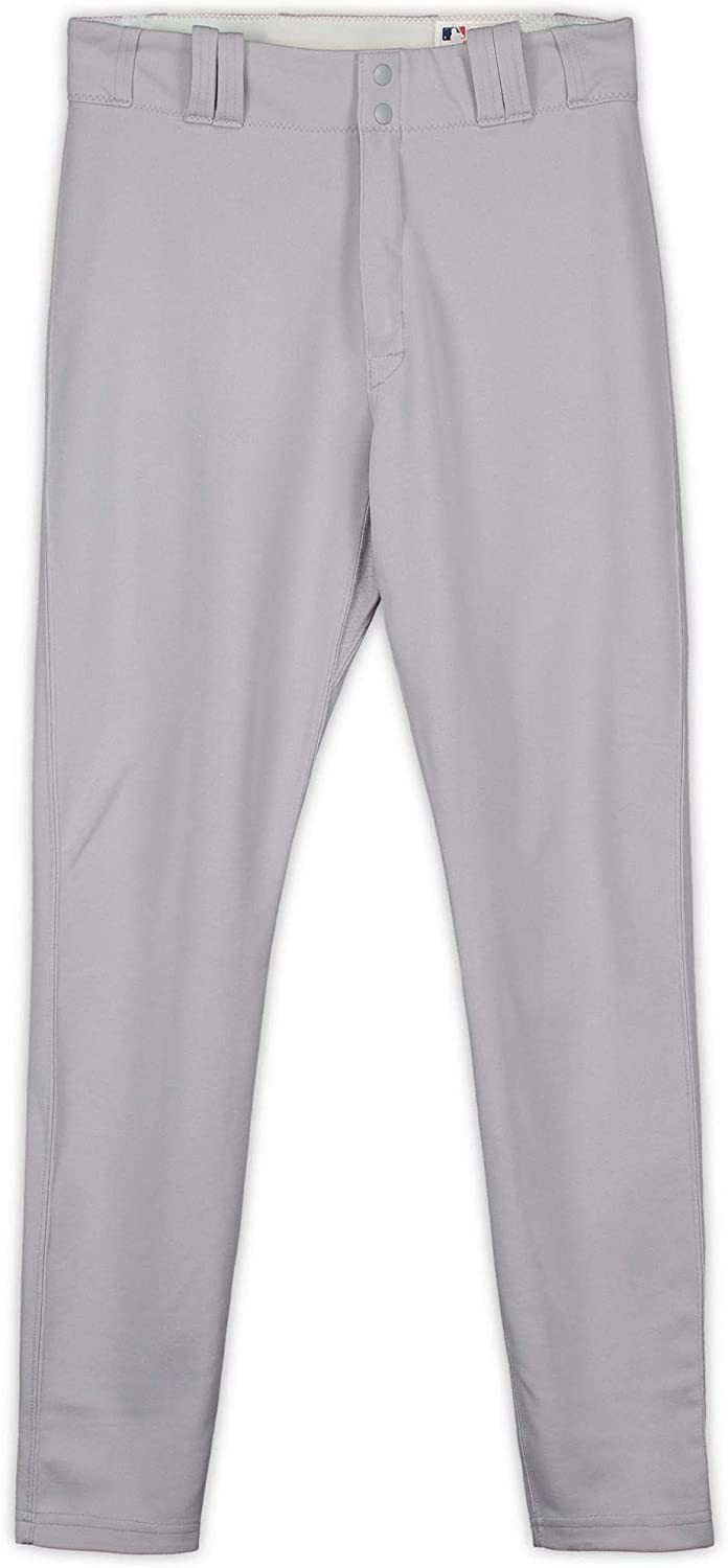 Alan Cockrell New York Yankees Game-Used Gray Pants from the 2017 MLB Postseason - JC009895 - Fanatics Authentic Certified