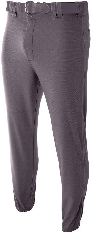 A4 Sportswear Youth Small Graphite Elastic Bottom Baseball Pants