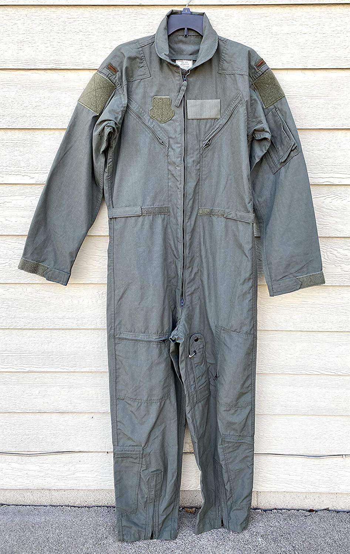 New Genuine Us Air Force USAF Nomex Fire Resistant Flight Suit CWU-27/P - 42L.
