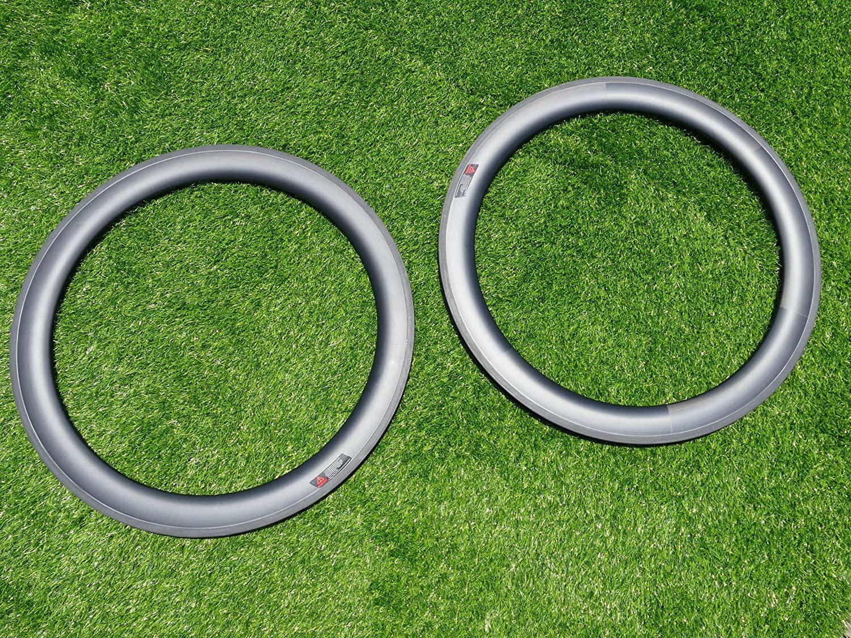 Width 20.5mm Wide V Shape 60mm Cycling Wheel Rims UD Carbon Glossy Bike Tubular Rim 700C Carbon Road Bicycle Rims 60mm (20, 24 Holes)