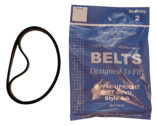 Royal Style 4/5 Vacuum Belts (Aftermarket)