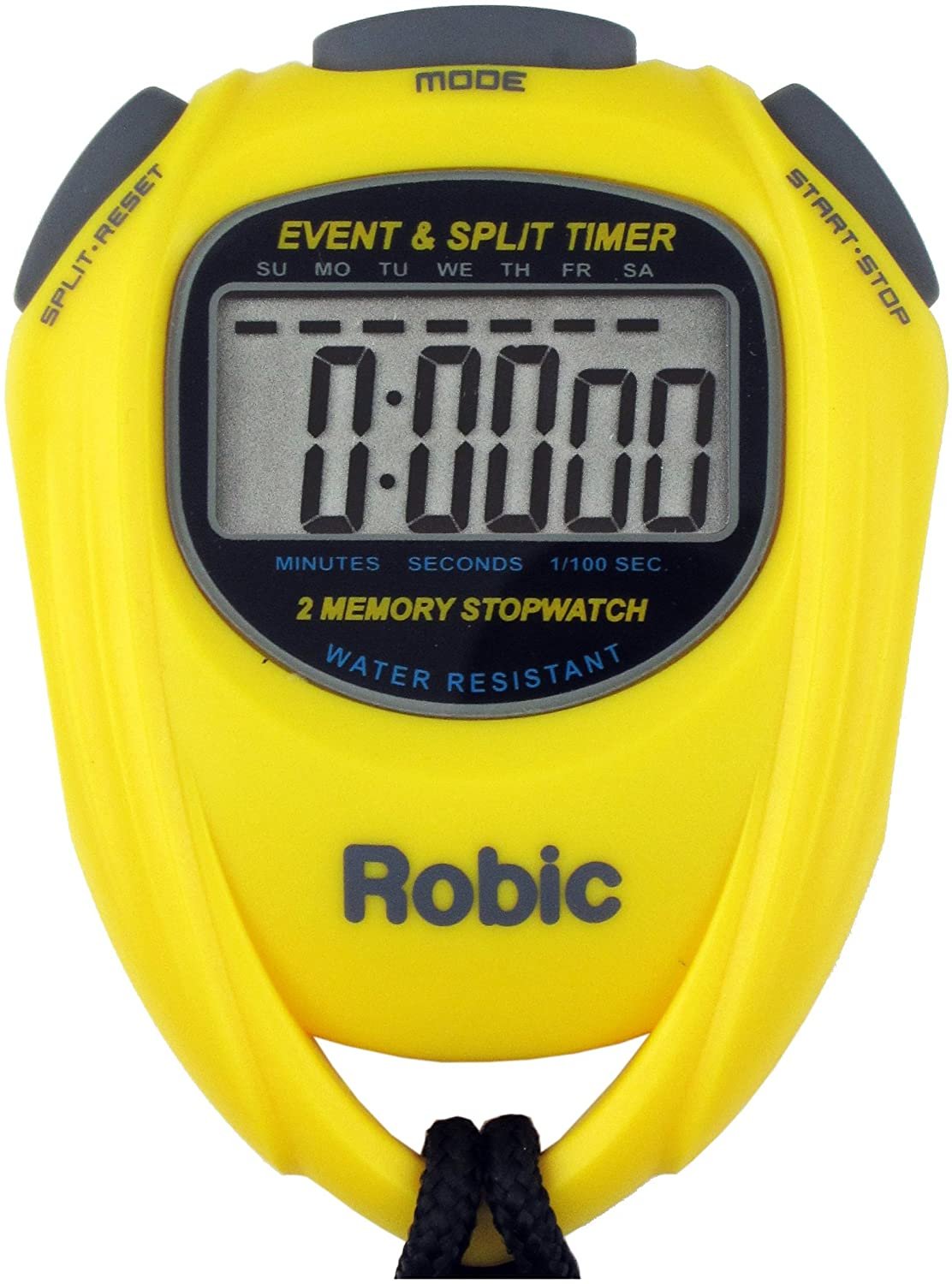 Robic Single Event Timer and 2 Memory Recall Split Stopwatch