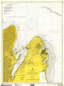 Historical Nautical Chart 347-3-1963: MA, Vineyard Haven Year 1963