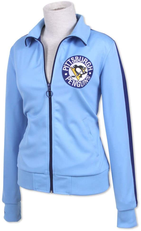 Mitchell & Ness Pittsburgh Penguins NHL Women's Faceoff Track Jacket