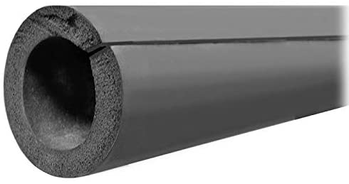 3/8 OD/IPS Double Stick Rubber Pipe Insulation, 3/8 Wall Thickness