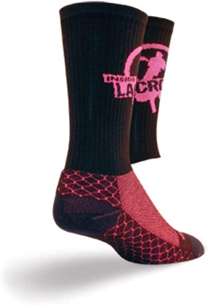 SockGuy Crew 8in LAX Mag 3 Lacrosse Socks