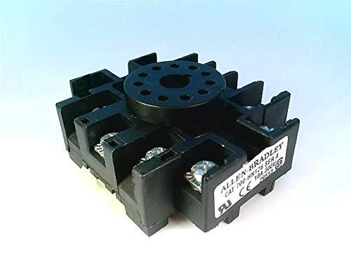 ALLEN BRADLEY 700-HN126-B 11PIN, Screw Conn, 10AMP, Black, 300VAC, Discontinued by Manufacturer, Relay Socket