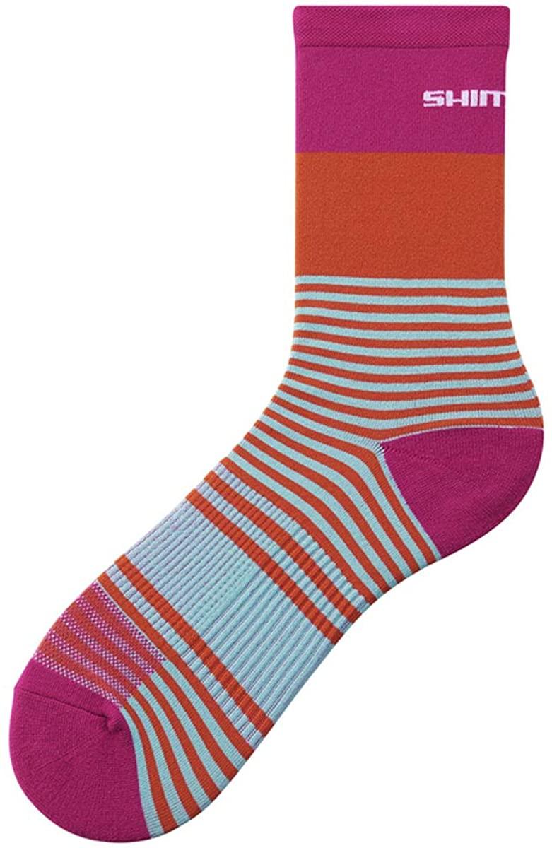 SHIMANO Original Tall Cycling Socks - Pink - ECWSCBSSS14