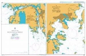 UKHO BA Chart 2987: Ports on The South Coast of Norway