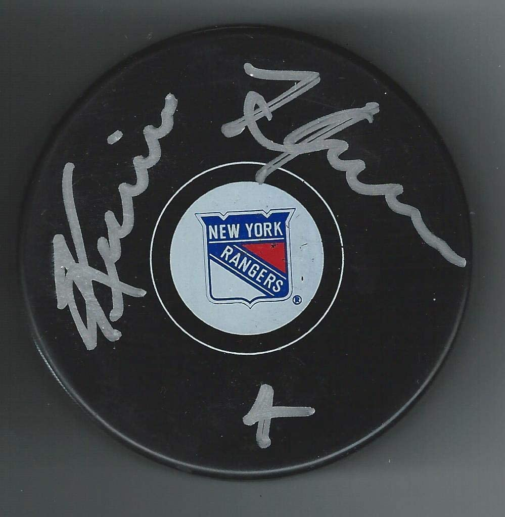 Kevin Hatcher Signed Puck - Autographed NHL Pucks