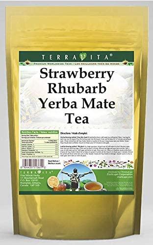 Strawberry Rhubarb Yerba Mate Tea (50 Tea Bags, ZIN: 564331)