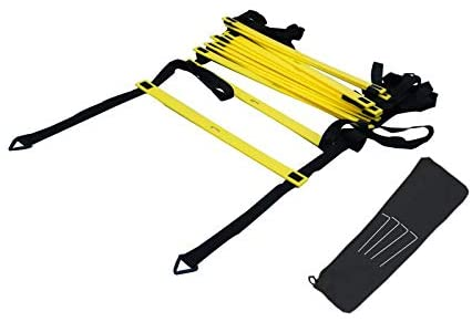 N/ A Agility Ladder Speed Training Ladder for Football Soccer Sports Exercise with 12 Rung