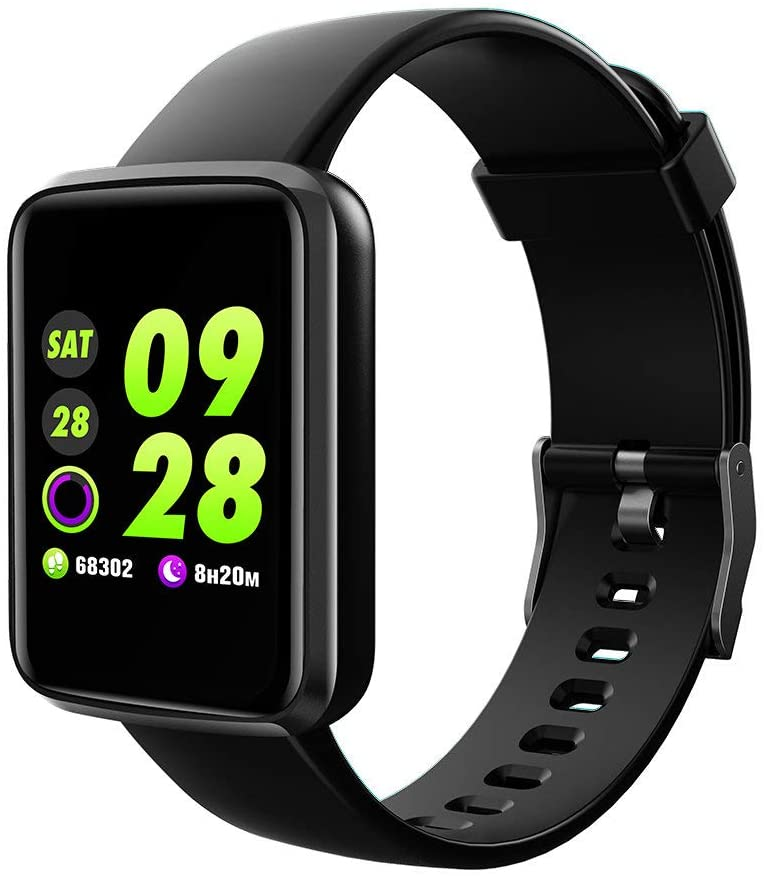 Strong Durable Best Bakeey Trendy Style Smart Watch Dynamic Heart Rate Nuisance Call Display Multi-Sport Modes Smart Watch