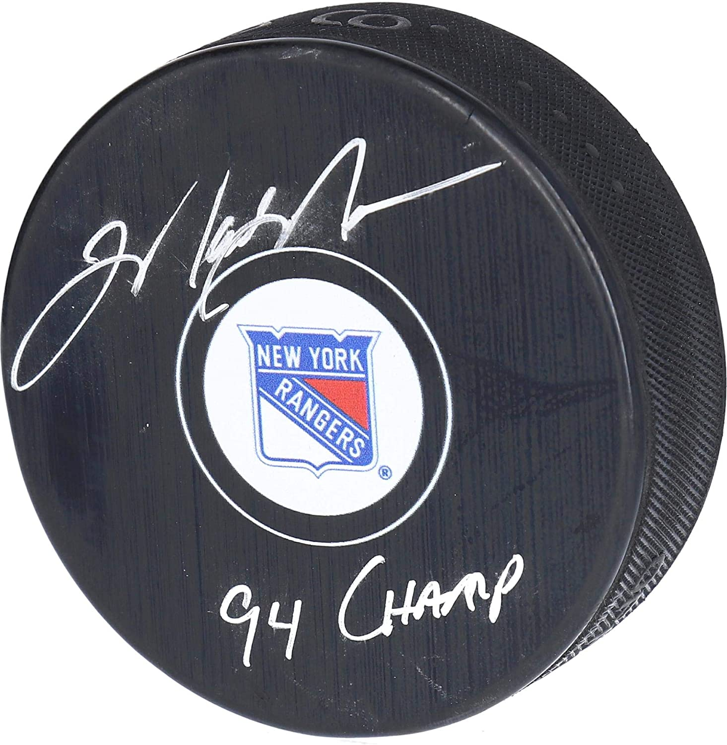 Mark Messier New York Rangers Autographed Puck with