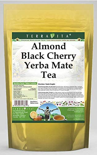 Almond Black Cherry Yerba Mate Tea (25 Tea Bags, ZIN: 563862)
