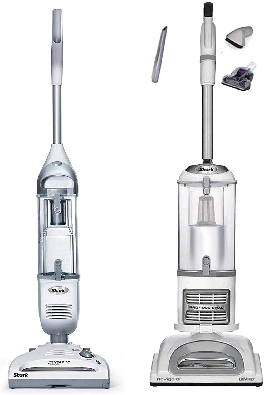 Shark Navigator Cordless Vacuum + Navigator Liftaway Pro (Renewed)