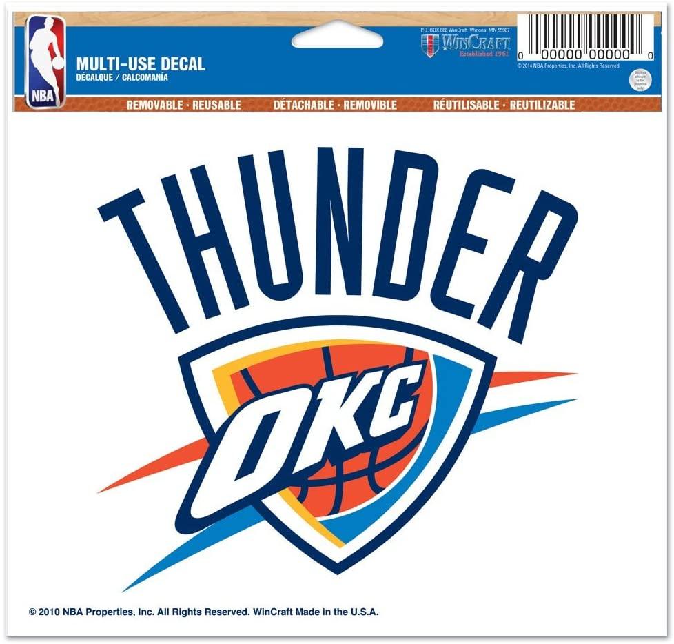 NBA Oklahoma City Thunder Ultra Decal, 5