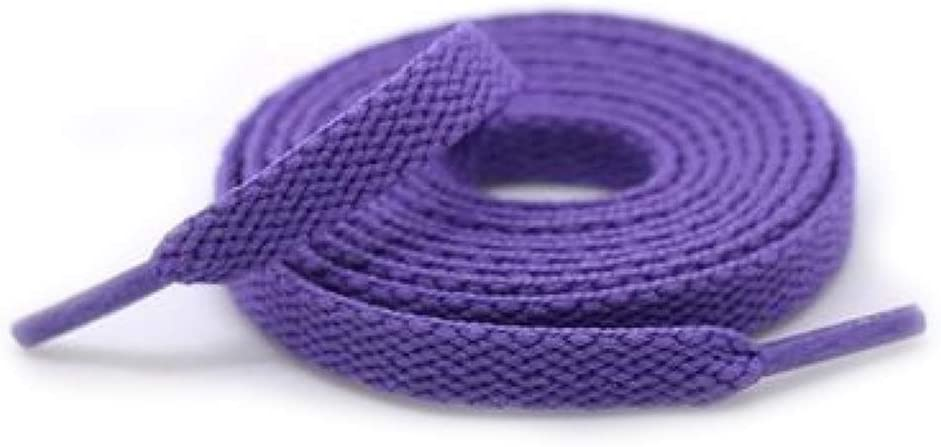 PTDJY Suitable for Different Shoe Types Laces Flat Belts Men and Women Optional Thickened Encrypted Knitted 160cm